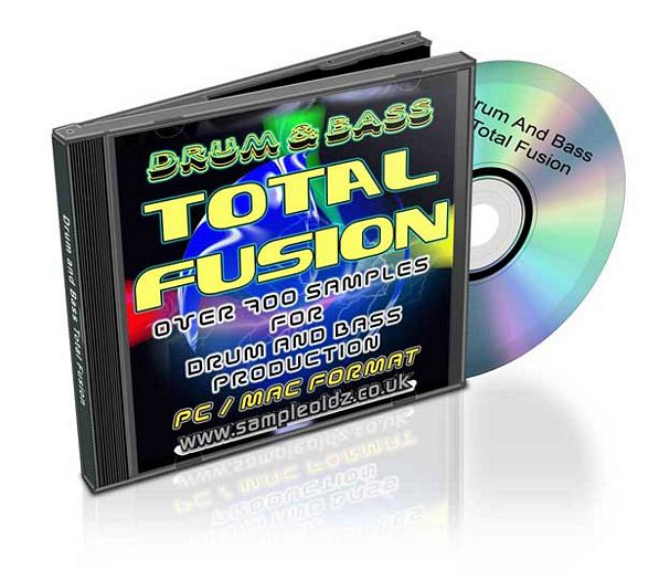 Product picture 800 DRUM AND BASS TOTAL FUSION NEW FOR 2008